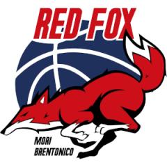 Logo Red Fox Basket Mori Brentonico