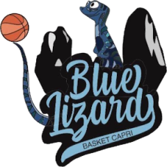 Logo Blue Lizard Basket Capri