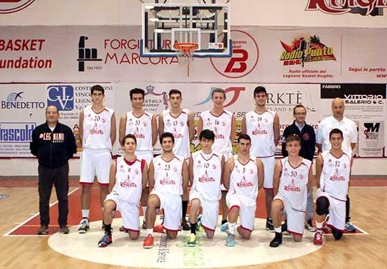 Foto squadra L.B. Legnano Basket Knights 2015