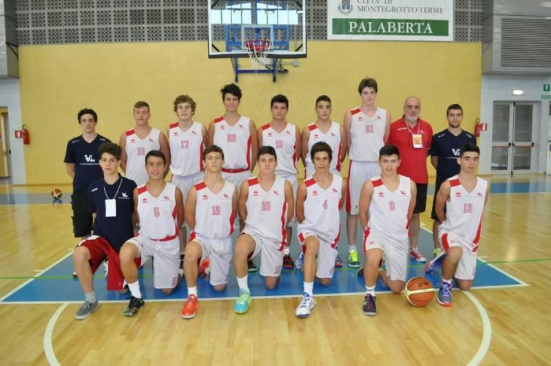Foto squadra Victoria Libertas Pesaro 2014