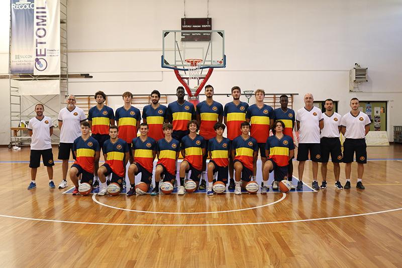 Foto squadra GiuliaBasket 2021