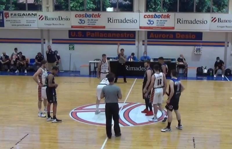 Rimadesio fa sua gara-1 di semifinale contro Gallarate