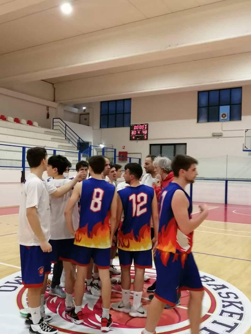 Il Basketball Teramo supera l' Airino Termoli e mantiene il secondo posto