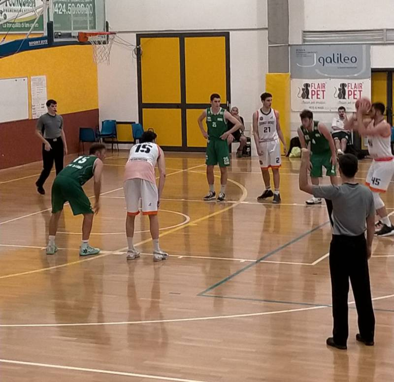 Finisce 90 a 45 per il Basket Club Jesolo l'ultima trasferta di questo campionato per gli Aviators