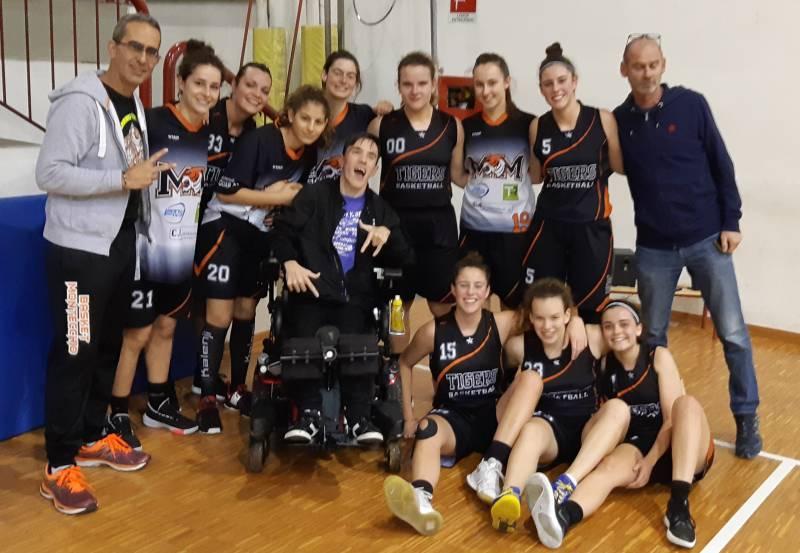Primo successo per la Promozione del Basket Montecchio