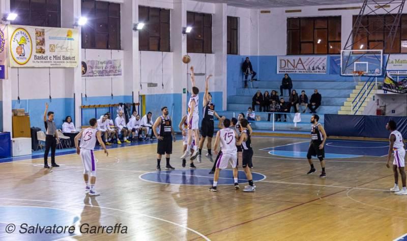 Sconfitta nel derby contro la capolista Castanea per l'Amatori Basket  Messina