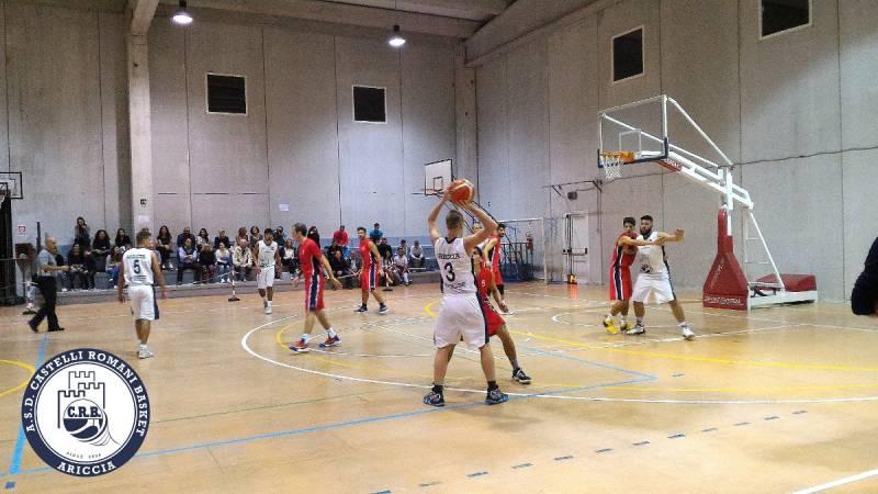 Castelli Romani: arriva la terza ... vittoria per 98 a 74 contro il Bk Valsugana