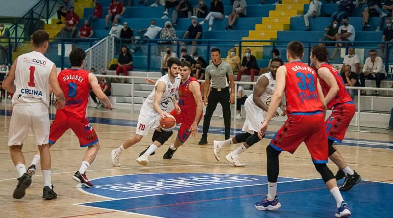 Sintecnica Basket Cecina crolla nella seconda parte e cede la salvezza ad Ozzano