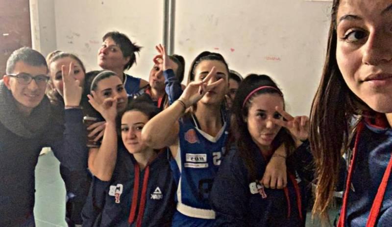 Quinta vittoria in dieci gare per la serie C femminile del Club Basket Frascati