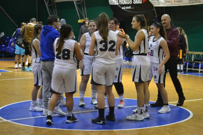 Terza vittoria (su cinque partite) per la serie C femminile del Club Basket Frascati