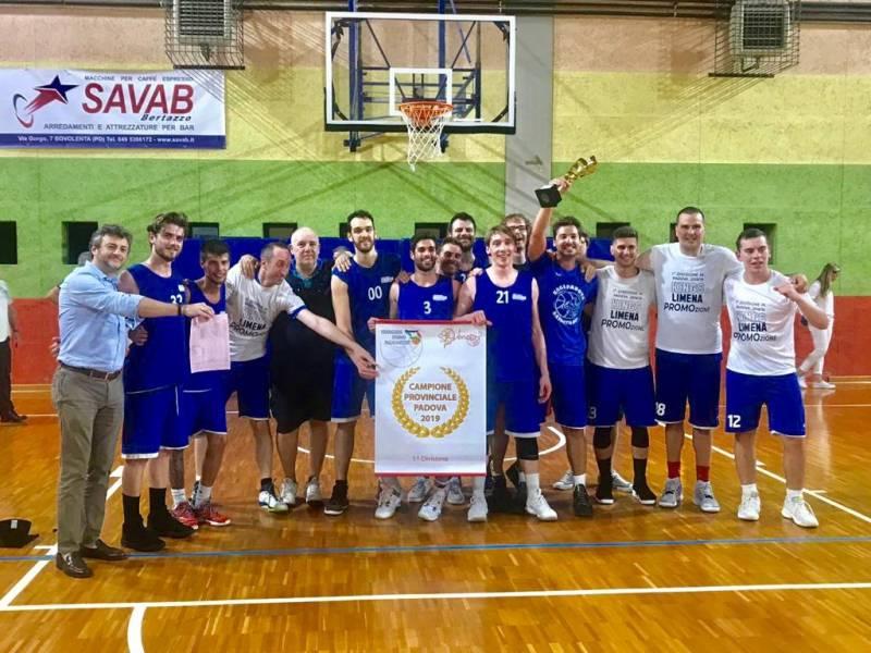 King Limena Campioni Provinciali 1a Divisione Padova 2018-19