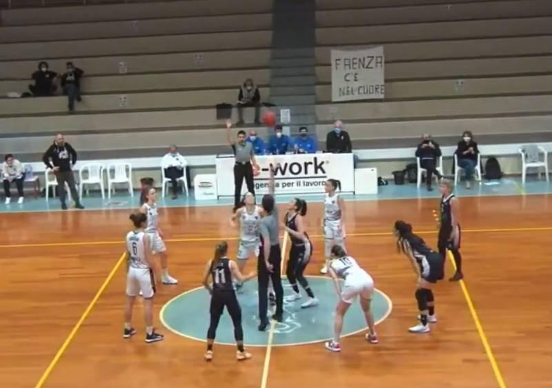 Crédit Agricole La Spezia, impresa solo sfiorata: a Faenza vince la capolista 84-72