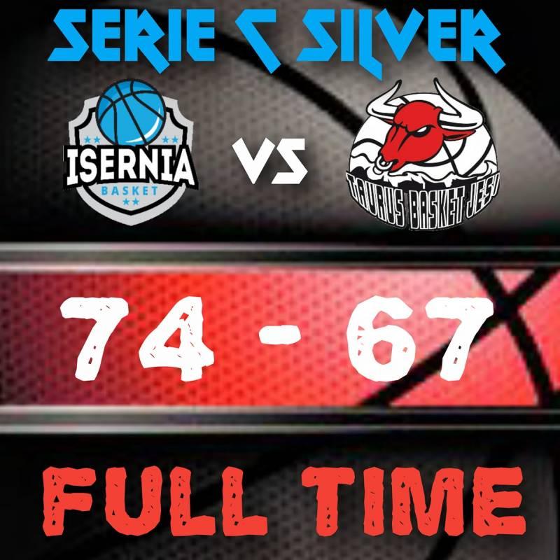 Una terza frazione perfetta vale la vittoria per il Basket Isernia contro la terza in classifica