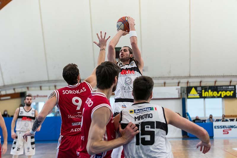 Atlante Eurobasket Roma sconfitta all'ultimo respiro dalla Lux Chieti
