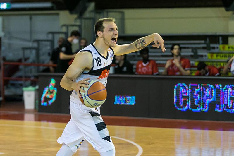 Successo sfuggito solo all'ultimo tiro per l'Atlante Eurobasket Roma in gara 3
