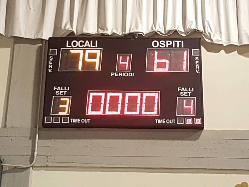 Prima di ritorno per la Reba e Trino sconfitta 79-61