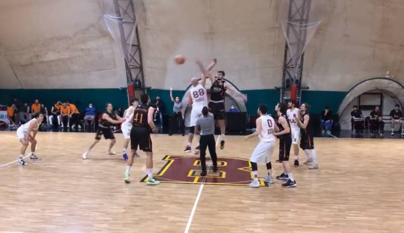 Brusco stop casalingo della IUL Basket Roma nel turno infrasettimanale contro un'ottima Fortitudo