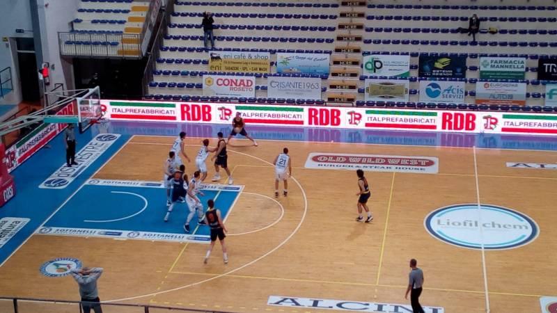 Il Giulia Basket esce sconfitto nel derby contro Roseto