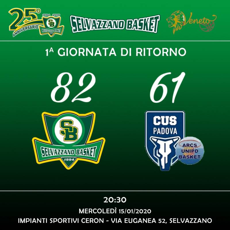 Selvazzano Basket vs Arcs Unipd