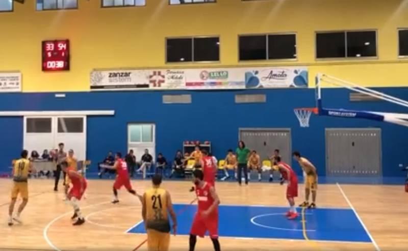 A Taranto arriva la seconda vittoria su tre partite per il CUS PM & Partners Basket Bari