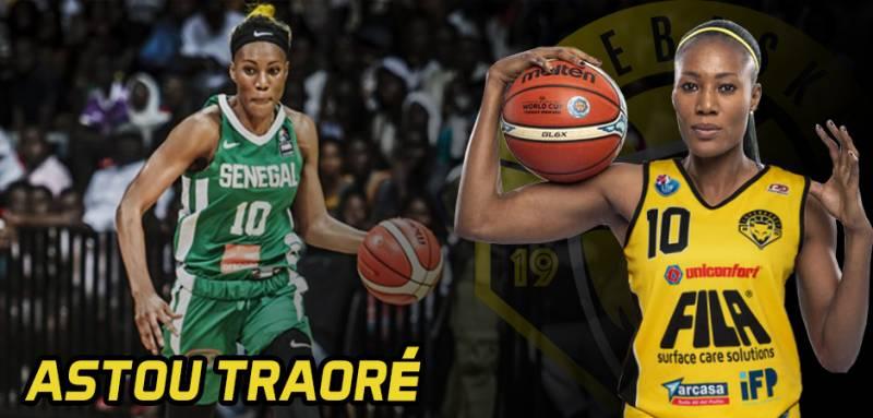 Il Fila ingaggia Astou Traoré, leggenda del basket africano