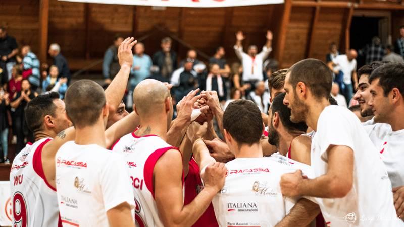 La TaSp si aggiudica il big match della decima di ritorno superando 74-50 l'Olimpia Mosciano