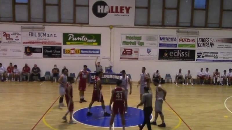 Una grande Amatori regala bel basket e coraggio per 2 quarti a Matelica