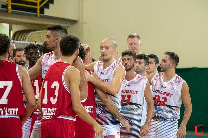 L'Unibasket passa ad Assisi e centra la prima vittoria stagionale