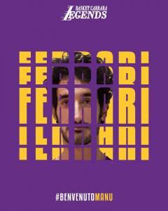 Manuel Ferrari firma per i Legends