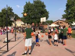 Openday minibasket, prima amichevole serie D, Sport in Piazza a Savigliano, Moretta e Racconigi