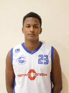 Il Secis Basket Club Jesolo è lieta di annunciare Hadim Luigi Ndoye