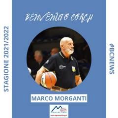 Marco Morganti è il nuovo allenatore della MG Consulting Novara!