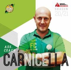Ancora Una Conferma: Carnicella Assistant Coach per Il Sesto Anno Di Fila!