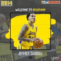 Jeffrey Carroll, BB14 ha il suo americano