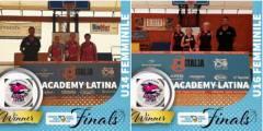 È triplete: le cestiste dell'Academy Latina trionfano alle finali regionali 3vs3 Under 14, 16 e 18