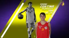 Il Castanea Basket ha perfezionato l'ingaggio del play Simone Cortina