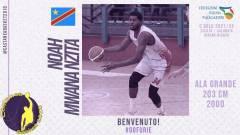 Iniziano le presentazioni per il roster di C Gold: dall'Angri arriva Noah Mwananzita