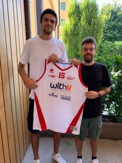 Un grande ritorno in casa With-U Cestistica: Edoardo Bertocchi