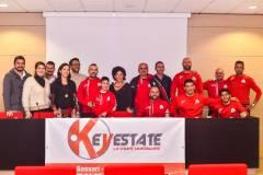 Key Estate rinnova il suo impegno al fianco del GSD Porto Torres