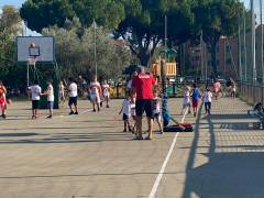 Oltre sessanta bambini ai corsi gratuiti (per tutto l'anno) della Gea Basket al Cottolengo