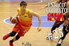 Enrico Gobbato vestirà i colori giallorossi anche per la prossima stagione!