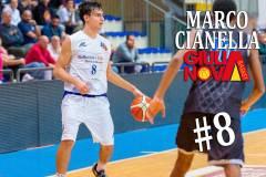 Il classe 2001 Marco Cianella chiude il roster 2019-20