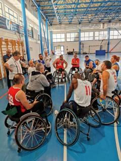 Finito il ritiro di preparazione  atletica al Pala Laforgia in vista dell'imminente campionato