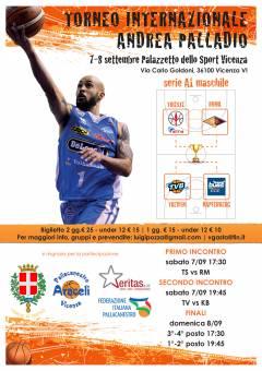 Il 7 e 8 settembre a Vicenza De' Longhi Treviso, Alma Trieste, Virtus Roma e Kapfenberg Bulls