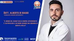 Benacquista, il Dott. Alberto di Biasio è il nuovo Biologo Nutrizionista.