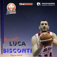 Benacquista, Luca Bisconti è il primo volto nuovo della stagione 2020/21