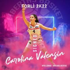 Nuovo innesto in casa Libertas Basket Rosa: arriva Carolina Valensin