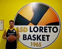 Prima ufficializzazione in casa Loreto Basket che presenta Francesco Benevelli