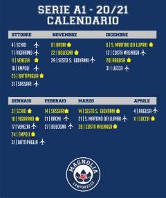 C'è il calendario: l'esordio in casa della corazzata Schio