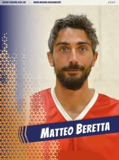 Matteo Beretta nuovo innesto sotto le plance
